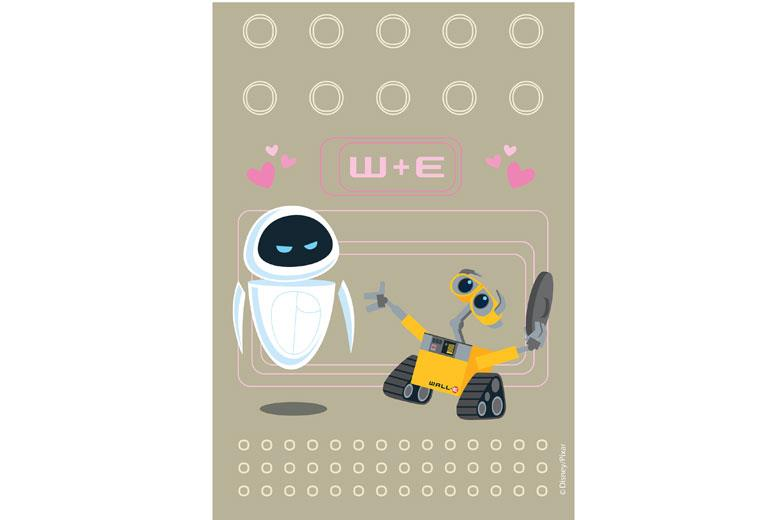 Χαλί ακρυλικό Disney Printed Tufted Wall-E 503